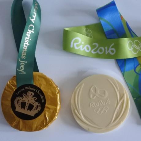 Rio chocolate medal