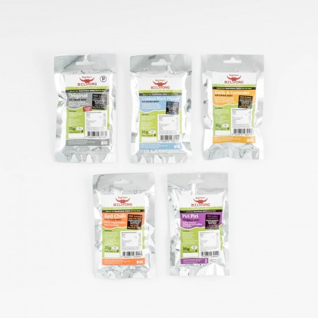 Biltong Protein Snack Pack Selection