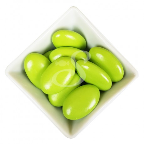 Classico - Lime Green Dark Chocolate Dragees