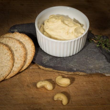 Creamy Classic Cashew Vegan Cheese Spread