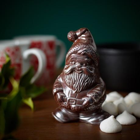 Hot Chocolate Santa with Marshmallows