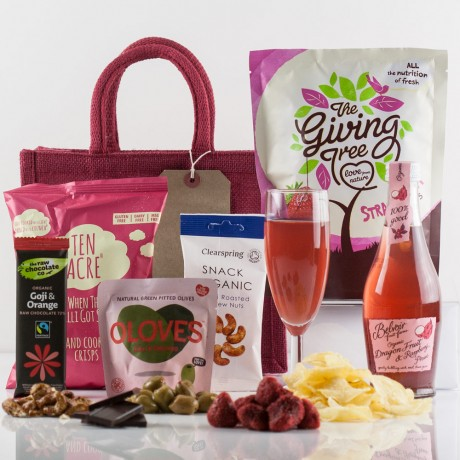 Vegan Delights Gift Bag from Natures Hampers