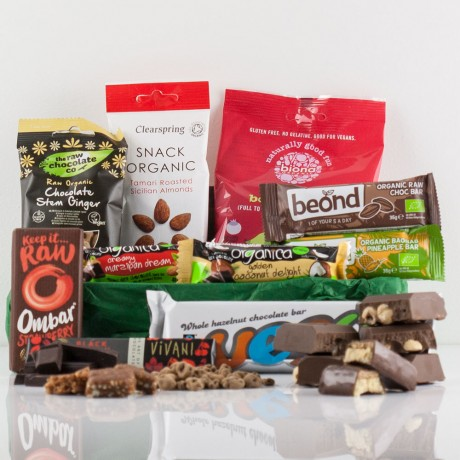 Organic Gluten-Free Vegan Snack Box - Natures Hampers