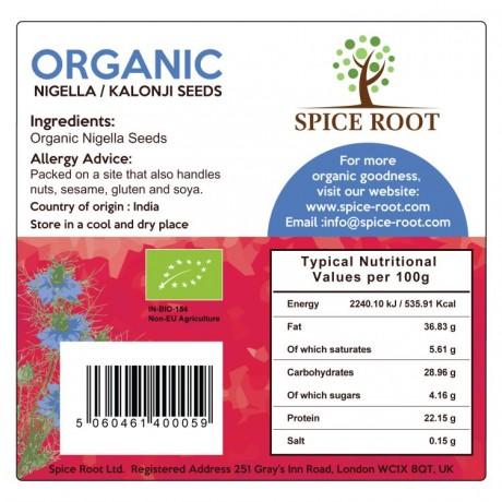 Organic Nigella Seeds