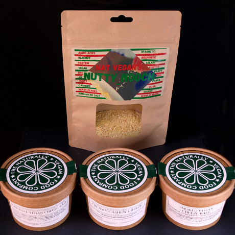The Vegan Cheese Collection Taster Box