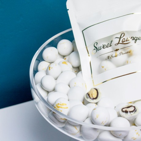 Gala Royal - White and Dark Chocolate Coated Almonds and Hazelnuts