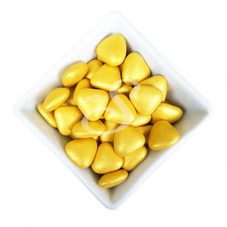 Heart Of Gold - Dark Chocolate Golden Hearts