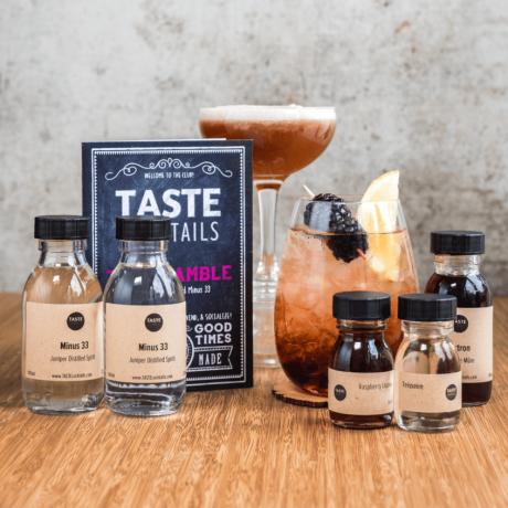 The TASTE cocktails Bramble Cocktail kit