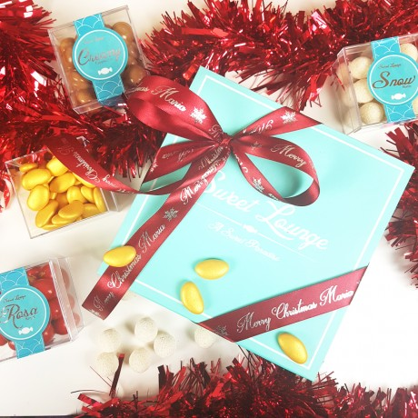 Personalised 'All I Want For Christmas' Chocolate Box. Gluten Free