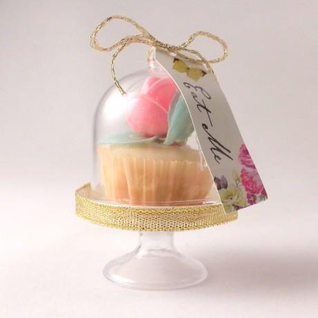 mini cupcake dome stand