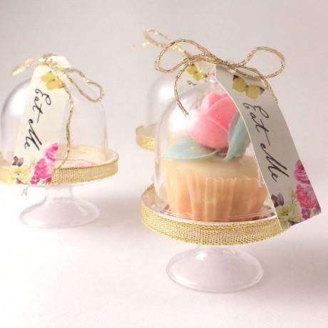 mini cake dome stand