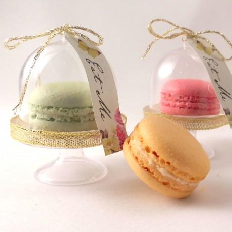 mini macaron dome stand
