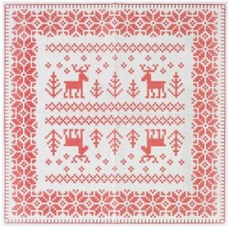 scandinavian christmas napkins