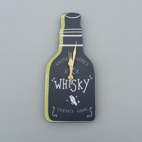 Whisky Wall Clock