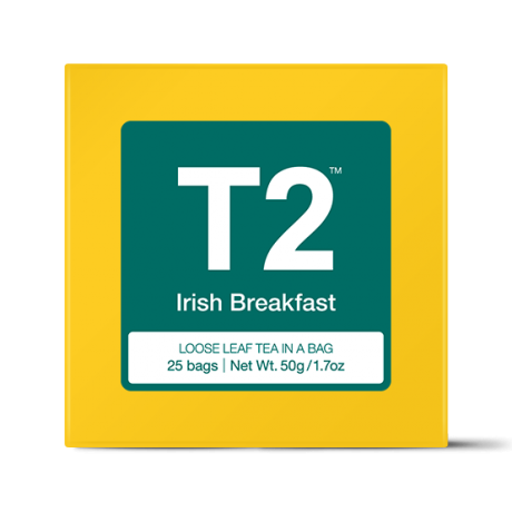 Irish Breakfast Teabag Gift Cube
