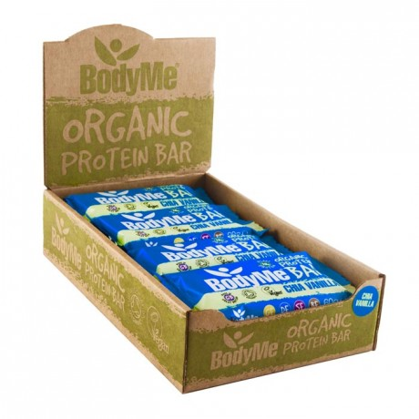 BodyMe Organic Vegan Protein Bar