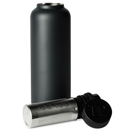 T2 Stainless Steel Flask Black