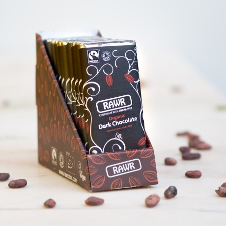Organic Fairtrade Dark Chocolate Bar 60g