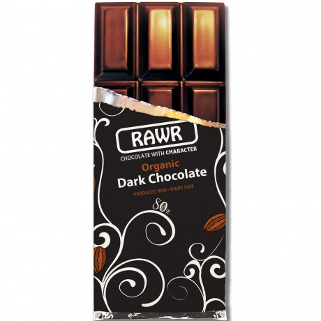 Organic Fairtrade Dark Chocolate Bar 60g Unwrapped
