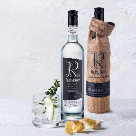 RubyBlue Potato Vodka in Gift Bag