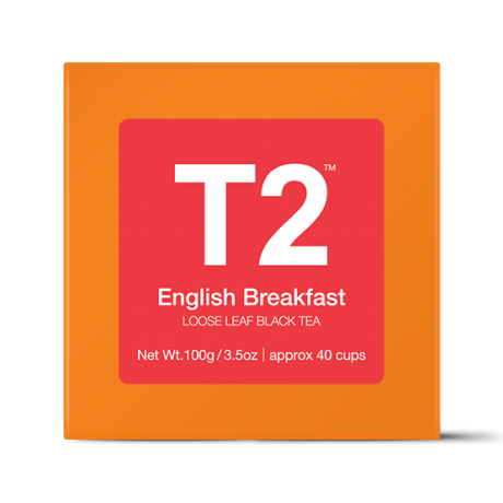 English Breakfast Loose Leaf Gift Cube