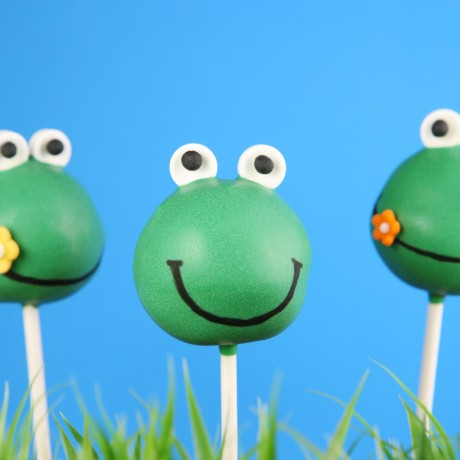 Frogs Cake Pops