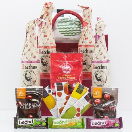 Ultimate Craft Fruit Beer & Snacks Gift Bag from Natures Hampers