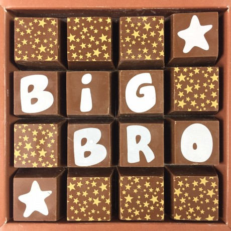 Personalised Message Chocolates for Big/Lil Bro