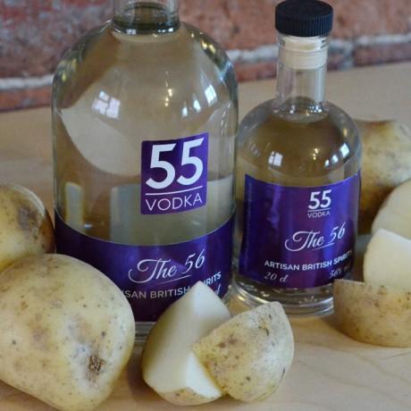 56% a.b.v Vodka