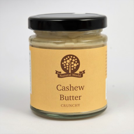 Nutural World Crunchy Cashew Butter