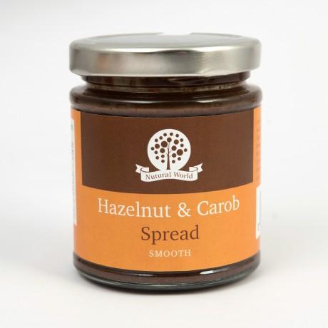 Smooth Hazelnut and Carob Spread