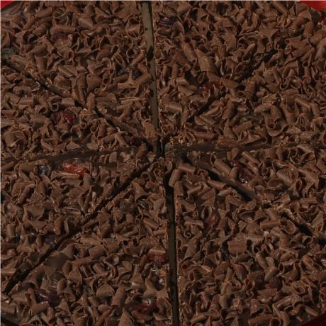 Double Dark & Delicious Chocolate Pizza