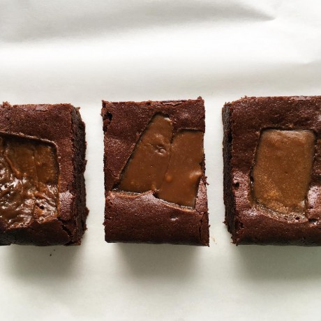 Muscovado Fudge Brownies - Serves 10 (Gluten Free)