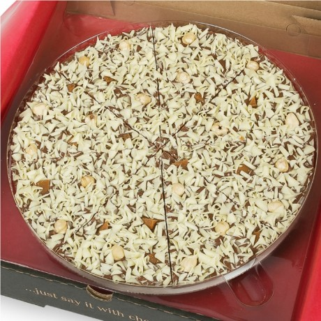 Gone Nuts Chocolate Pizza
