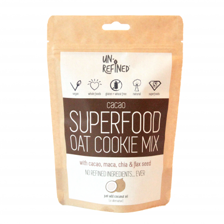 Cacao Superfood Oat Cookie Mix