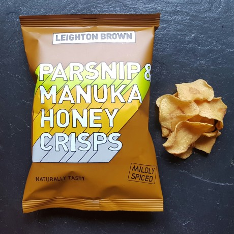 Parsnip Crisps with Manuka Honey