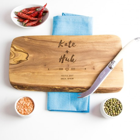 Personalised Wooden Cheese/Chopping/Serving Board