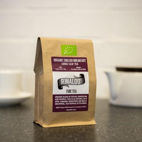 Organic English Breakfast Tea - Loose Leaf