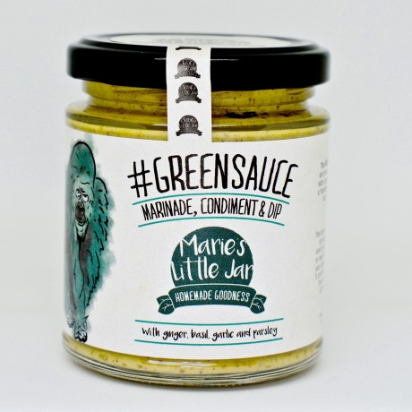 The Green Sauce - Ginger, Basil, Garlic & Parsley (Twin Pack)