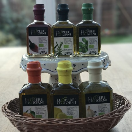 Oil Symphony Set - 3 Bottles Of Infused Extra Virgin Olive Oil