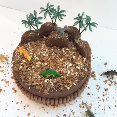 Dinosaur Land Cake Kit