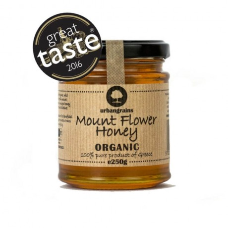 Organic Greek Mountain Olympus Flower Honey