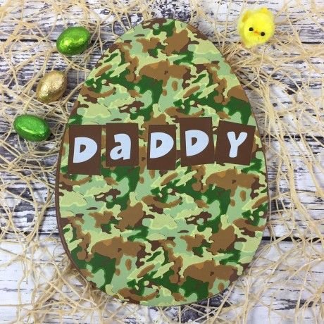 camouflage chocolate easter egg cocoapod