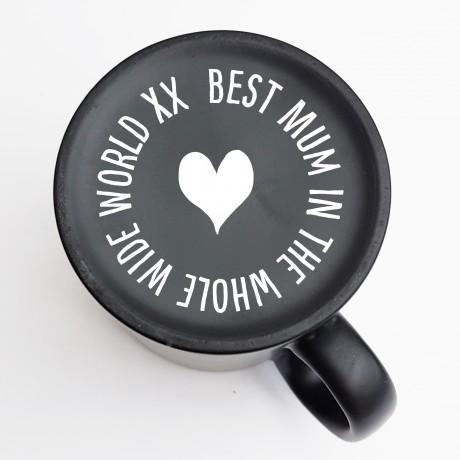 Hidden Message Personalised Mum Mug