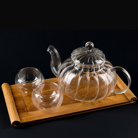 Teaset with bubble cups