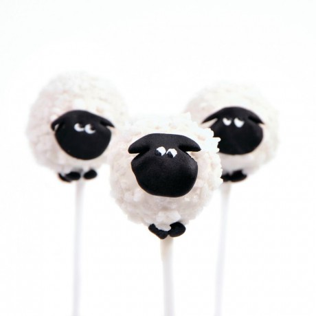 Sheep Cake pop kit