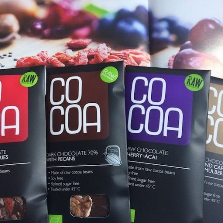 Cocoa Raw Chocolate Bars Selection Pack (4 bars)