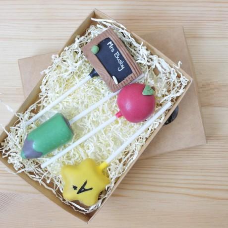 Teachers Cake Pop Gift Set