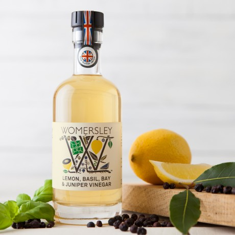 Lemon, Basil, Bay & Juniper Vinegar 250ml
