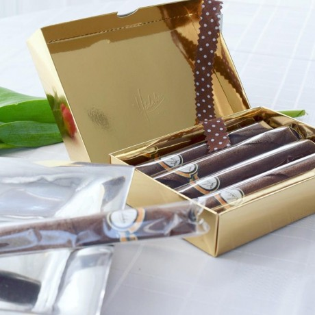 Chocolate Coated Tuile Luxury Chocolate Box (with Fillings)